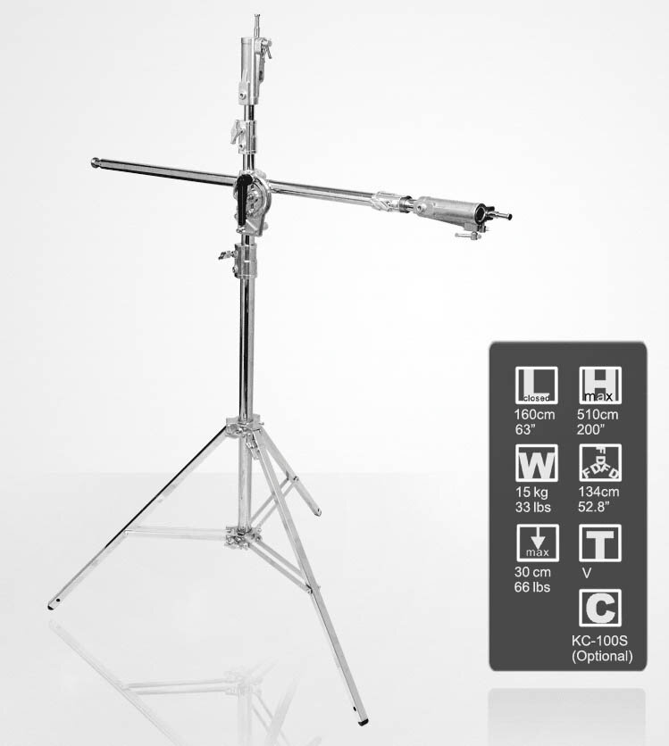 KUPO 546M Junior Boom Stand 510cm with 280cm integrated boom arm e.jpg