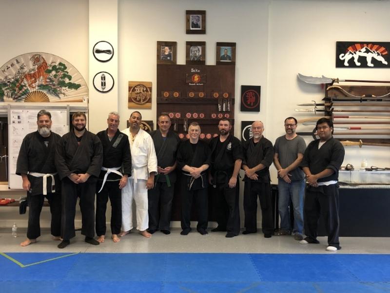 15 September 2018 Shihan Joseph Adriance Training Seminar at Mountain Tiger Dojo in Fort Myers, FL