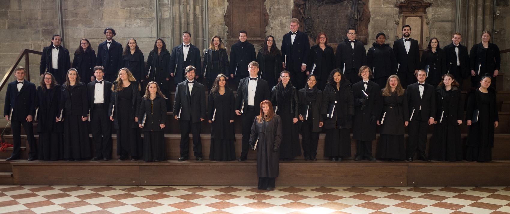 The WP Chamber Choir. Photo, David Kerzner.