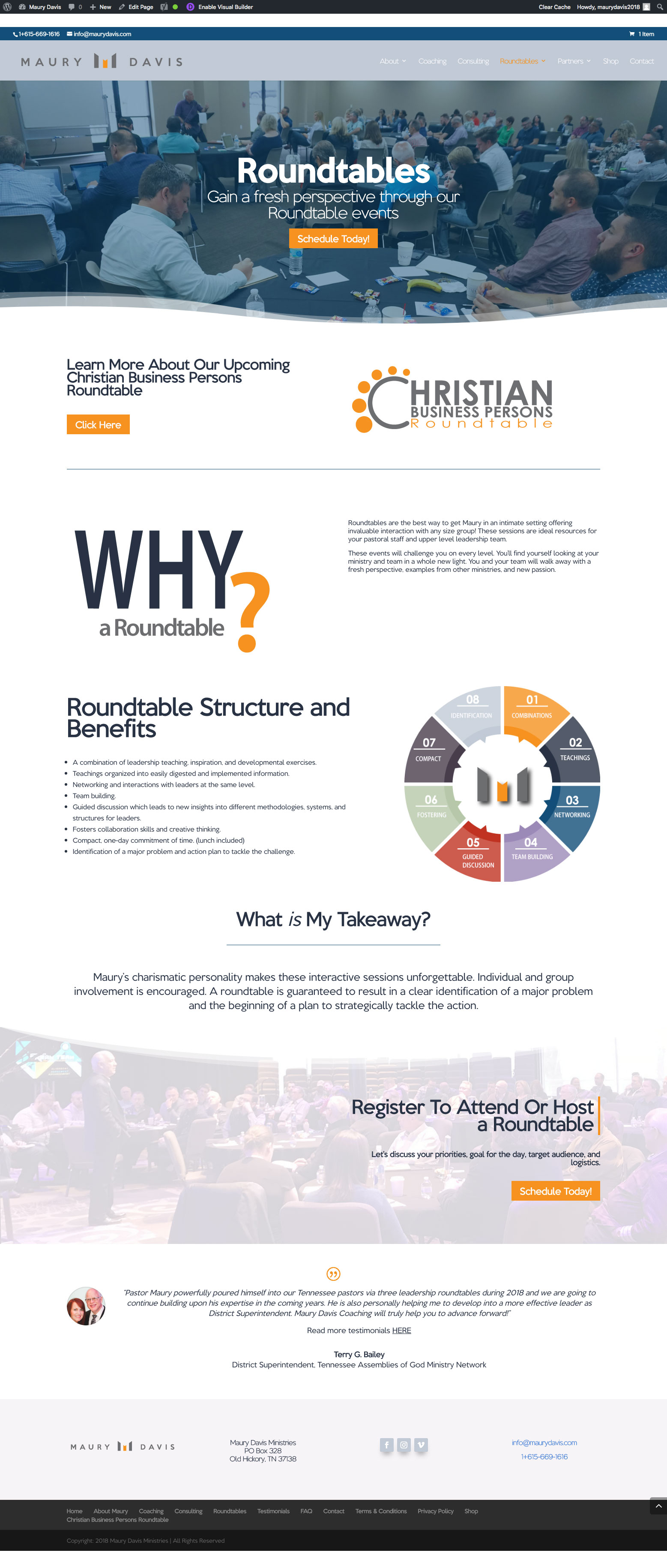 Roundtables Page