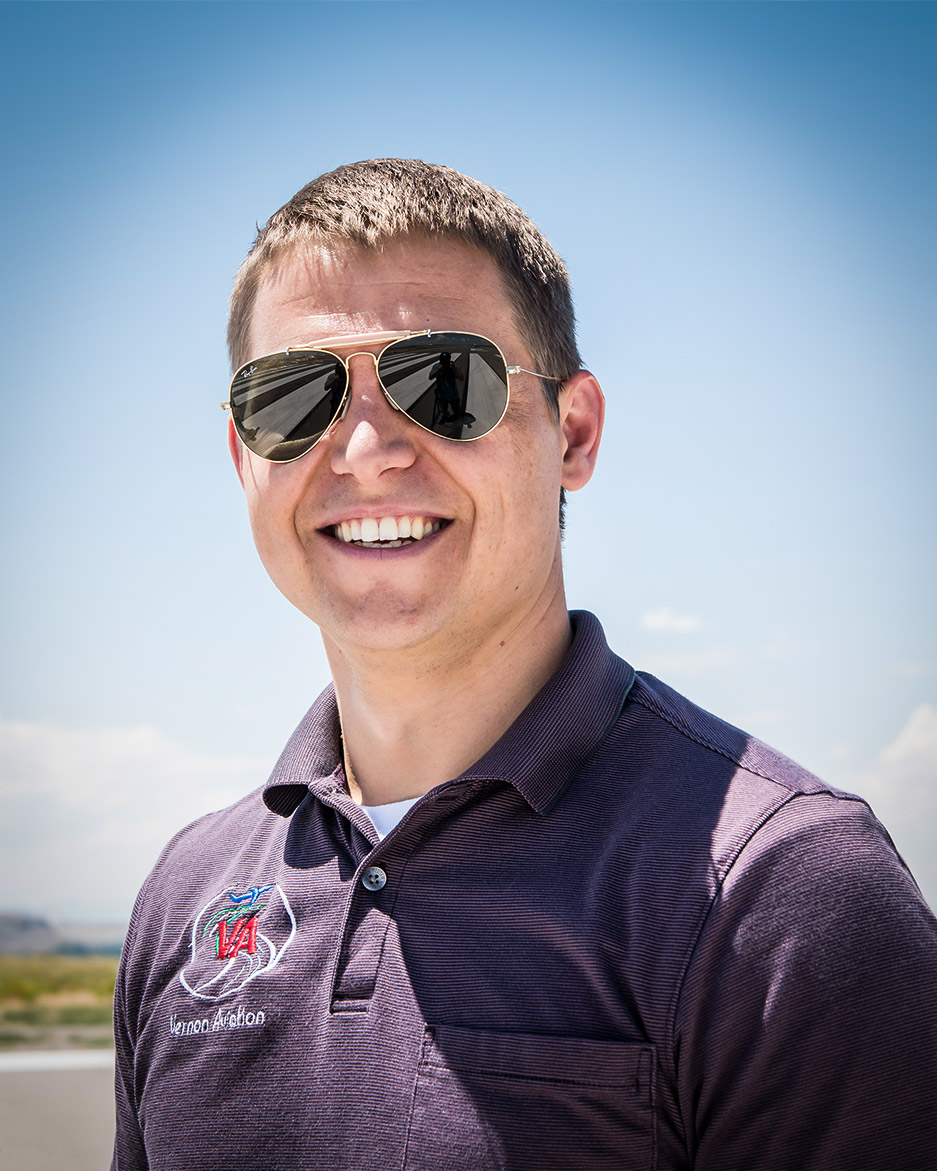 Dylan Garrison - Director of Operations & Chief Pilot