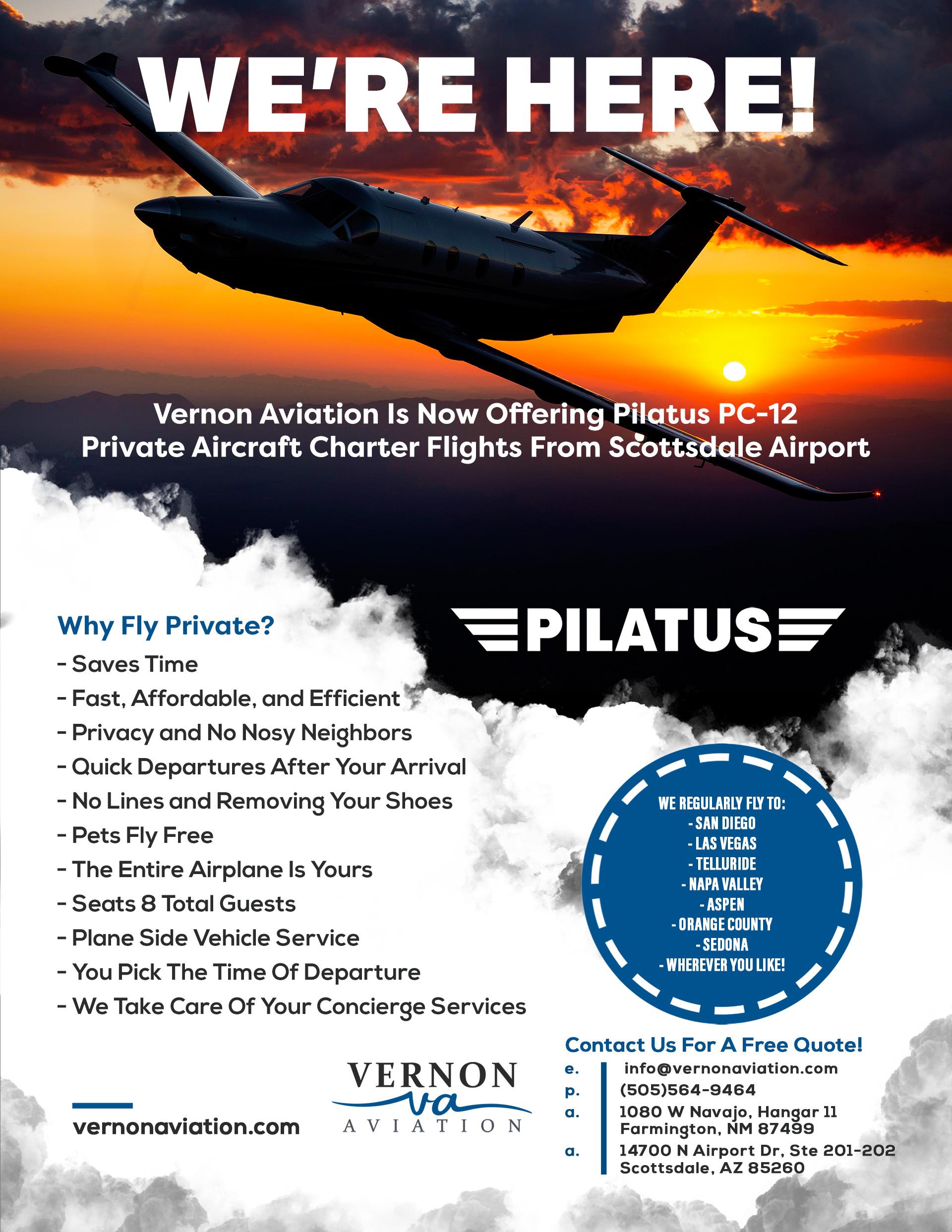 Vernon Aviation Anounces New Scottsdale Location.jpg
