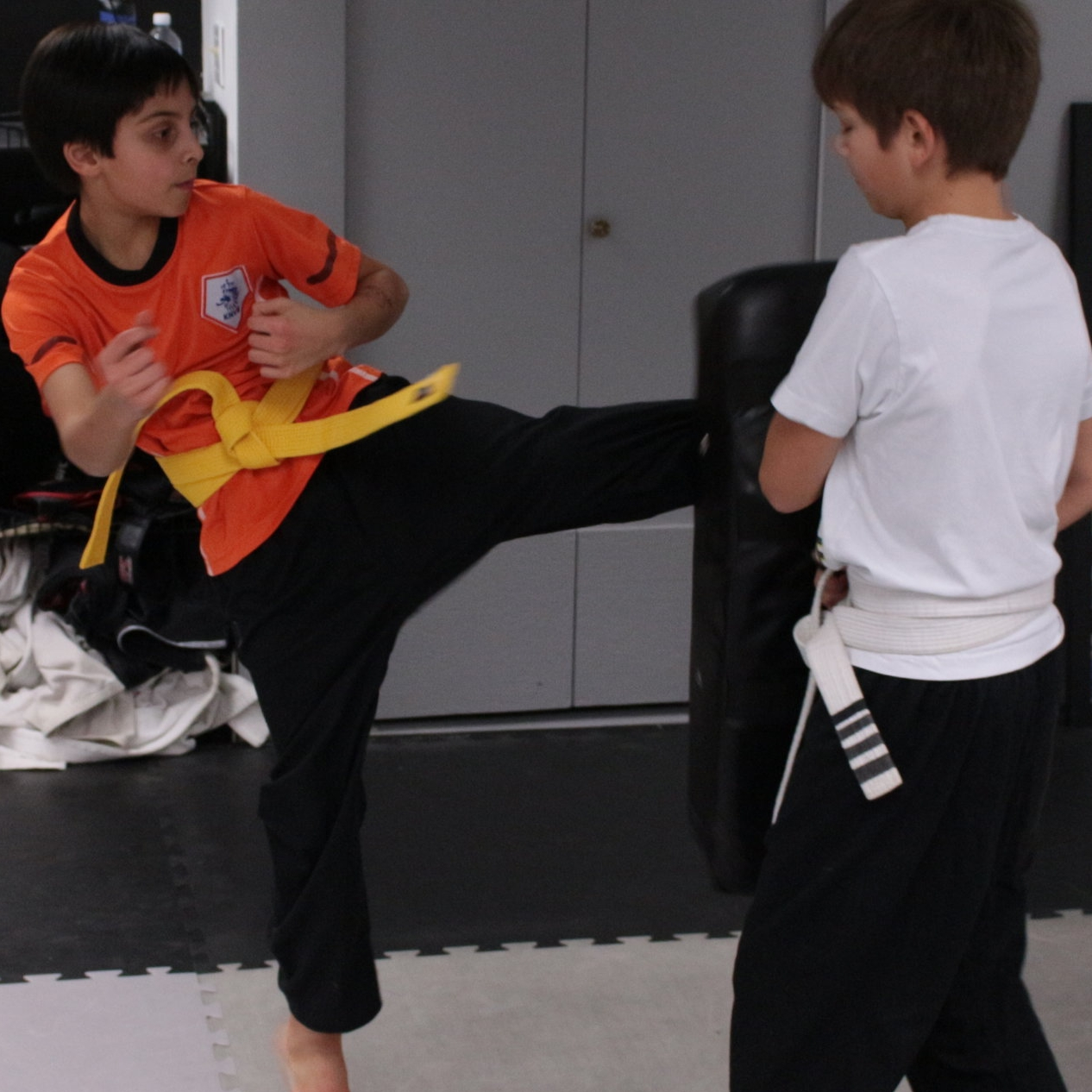 Kids Kickboxing - Kickboxing for kids 6-12 years old.