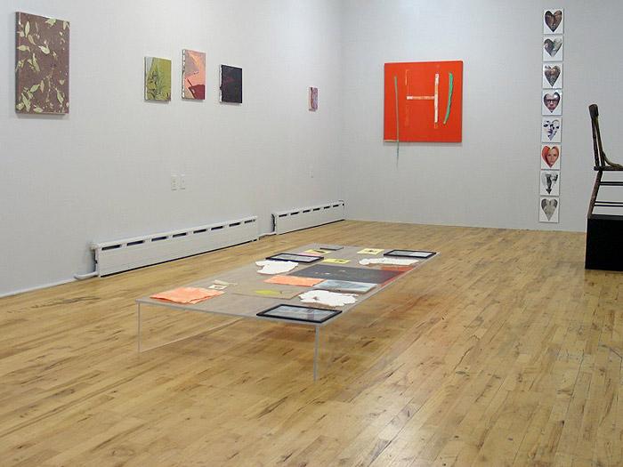 "Installation view, ""Materialism"""
