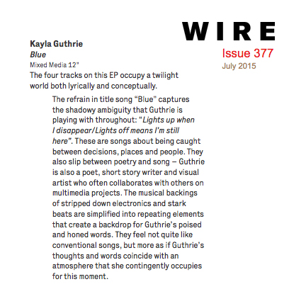 Review in The Wire Issue 377