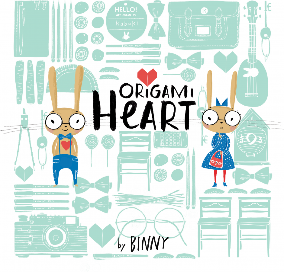 'Origami Heart' Pubished by Lothian and Hodder UK