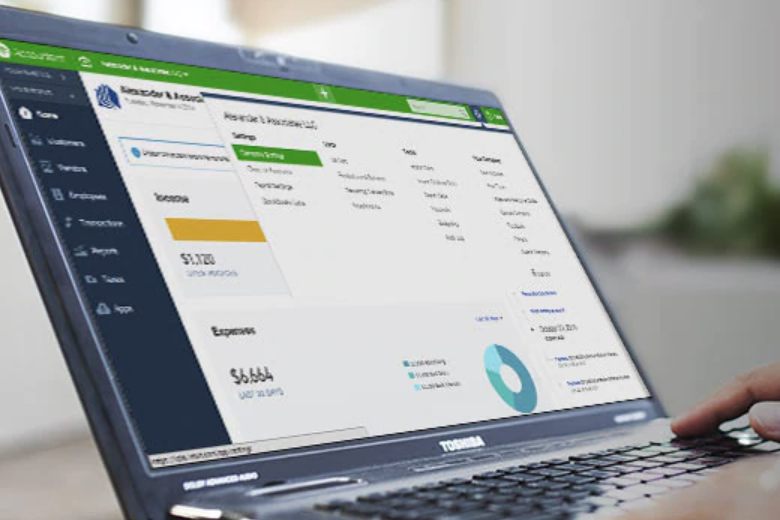 Quickbooks Online - QuickBooks Online is a cloud based financial management software. Its designed to slash the time you spend managing your business finances by organizing all your accounting data in the cloud.