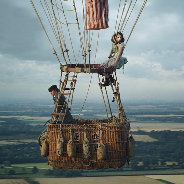 The Aeronauts. Amazon Studios.  About to embark on my next cinematic journey with my 2nd film at the helm; I am hugely grateful for the opportunity to work alongside Tom Harper and front the production sound team on this balloon-based masterpiece. In cinemas in November. 🎈