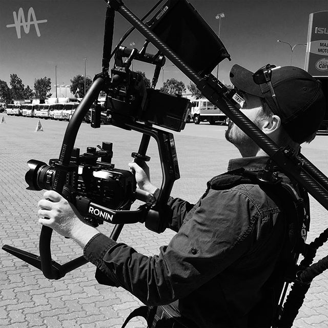 Video shoot for Major Motors 🚚 steady now @finny_m 🎥 #mediatight