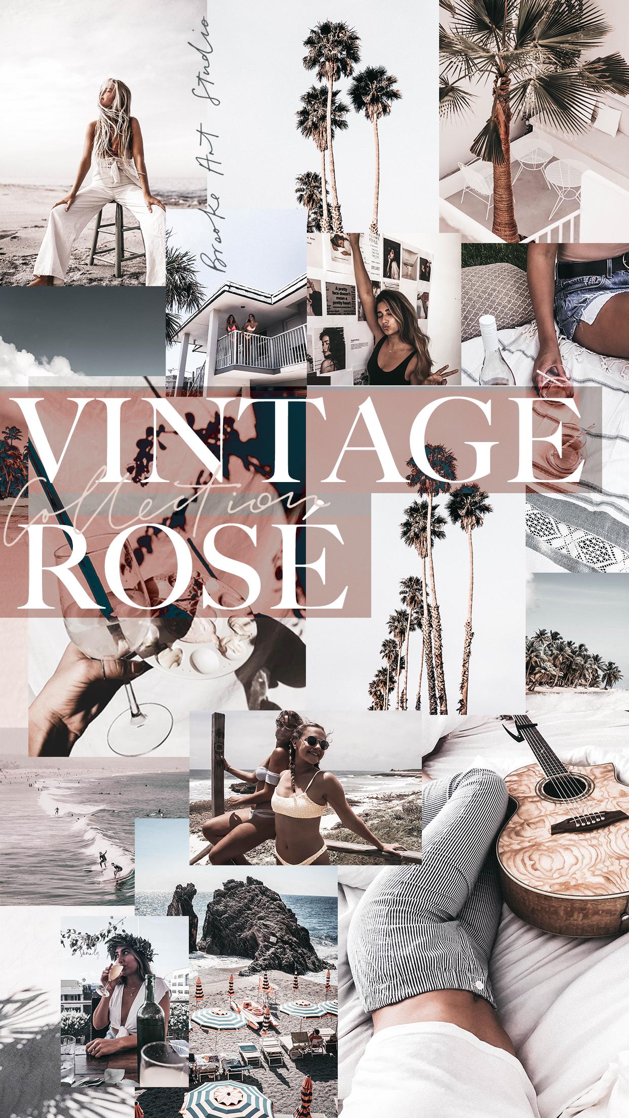 Brooke Art Studio Vintage Rosé Collection - Lightroom Presets