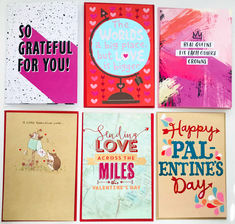 *These greeeting cards to sent to me from American Greetings.