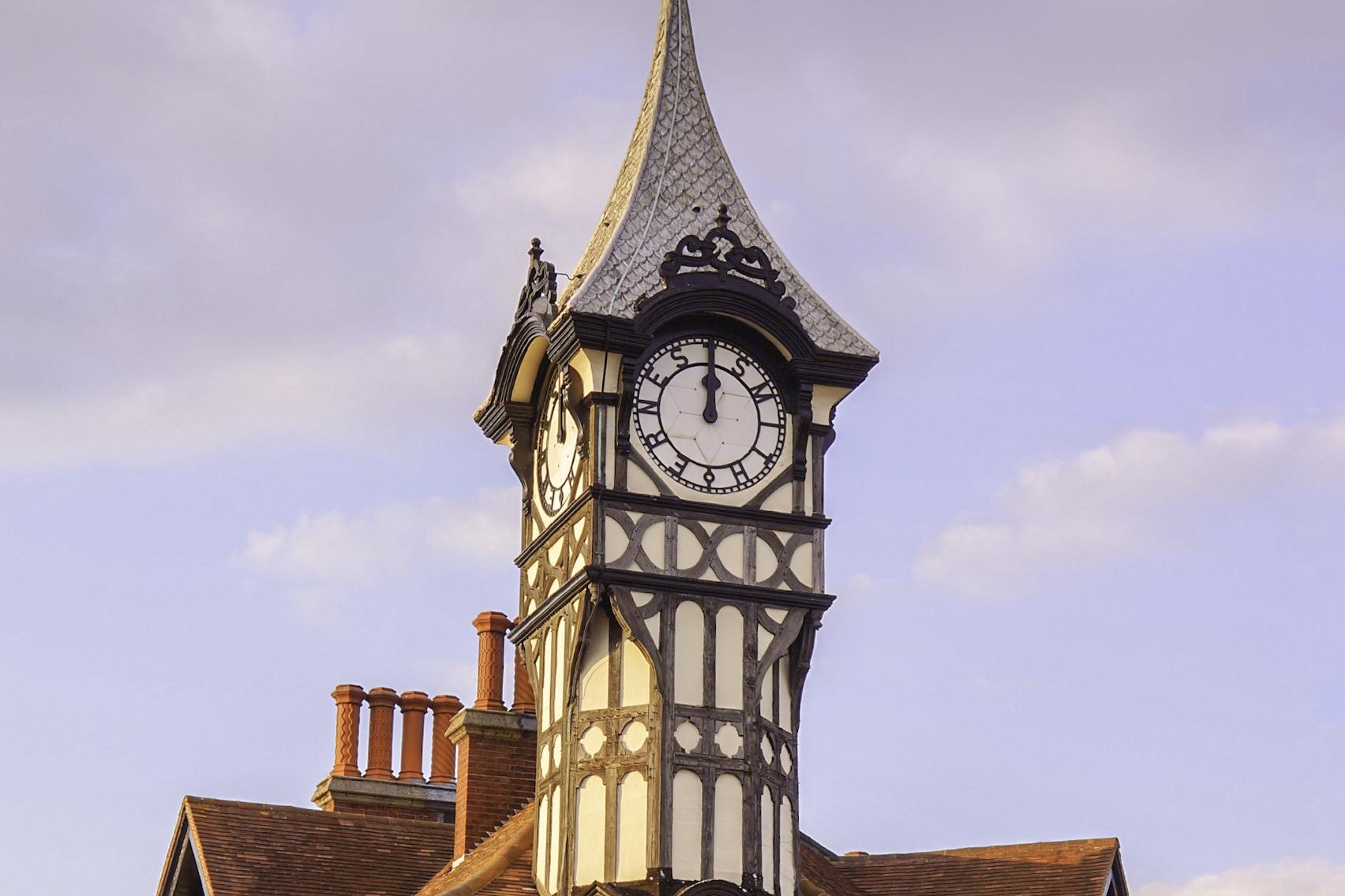Castle Road Clocktower Ernest Smith