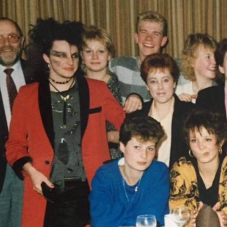Tony Wood Hair 1980 — 1984