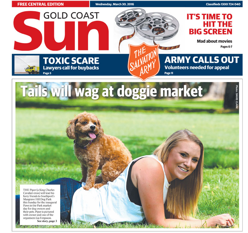 Gold Coast Sun, April 2016