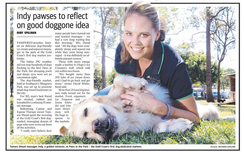 Gold Coast Bulletin, April 2016