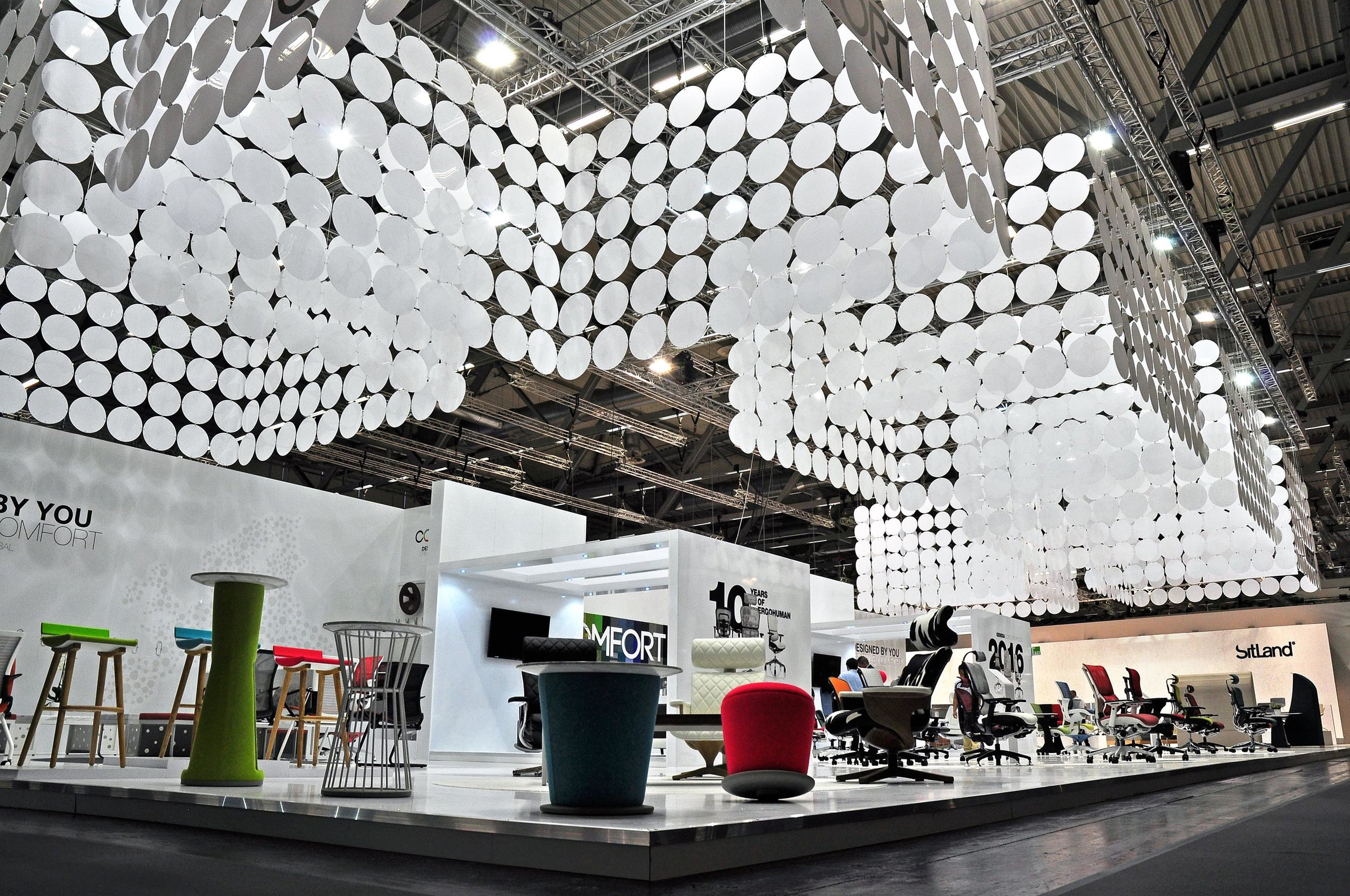 Orgatec 2018 expects to host over 60,000 visitors from around 120 different countries -