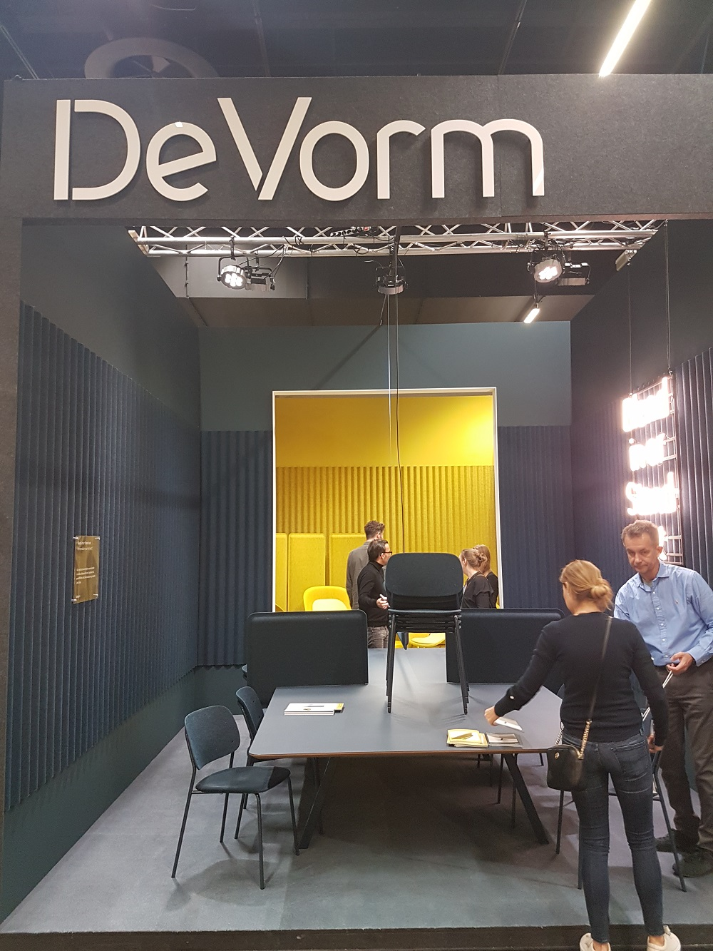 Devorm sustainable furniture made from recycled plastic bottles