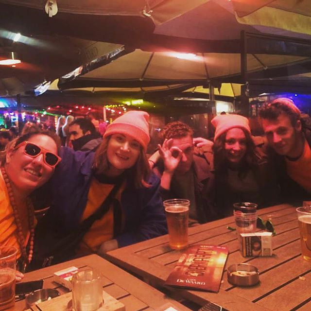Amazing team time in Amsterdam during kingsday weekend! 🍻 #amsterdam #teambuilding #3equals1ontour #kingsday #netherlands #designers #makingworklive #orange #greattime