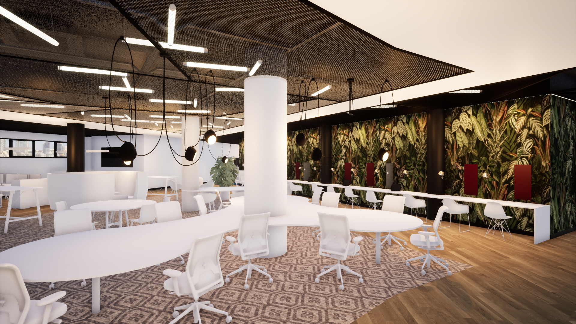 Co-working Space - A glimpse at a new Co-working space for tech start ups - watch this space!