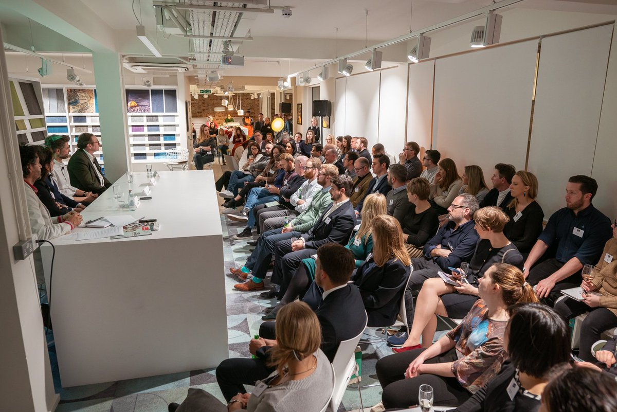 Mix Interiors Co-working Talk - Knowledge is key! We love an educational talk and a highlight so far this year has been this event from Mix Inspired - 'Co-working - Are we at the beginning, middle or the end'. The panel raised various points such as how many millennials don't expect to own anything these days and the new shift from ownership to access offering wider choice and better quality of life. From Zipcars to iPhone, people would rather do stuff than own stuff and our workplaces are following suit. Who wouldn't want a buzzing reception area with a live radio station, filled with celebs and sounds?! That's what you'll expect from Fora's new 'Pro-working' space!Find out more about this event