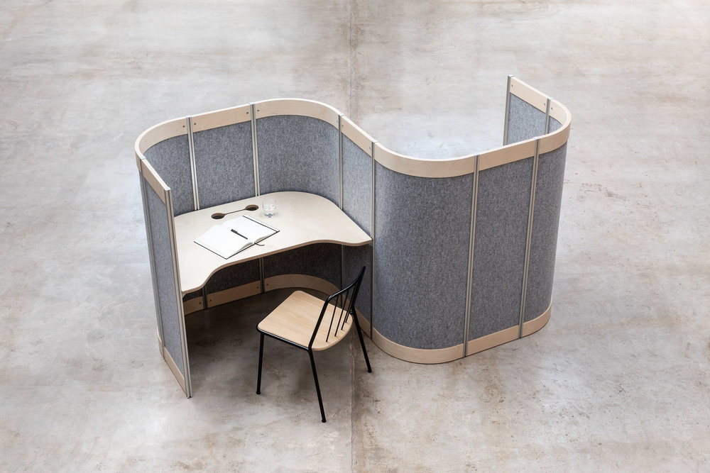 'By Ourselves' From Not Another Chair - Harry picked out some great options for a sales environment that suit the varied working needs of a typically agile role.The fittingly named work booth 'By Ourselves' from Not Another Chair offers its user a quiet space to touch down and get some work done. We love the simple non-electric sit stand mechanism which allows the product itself to be flexible and easily moved around an ever changing office space! Great for businesses that are looking to grow!