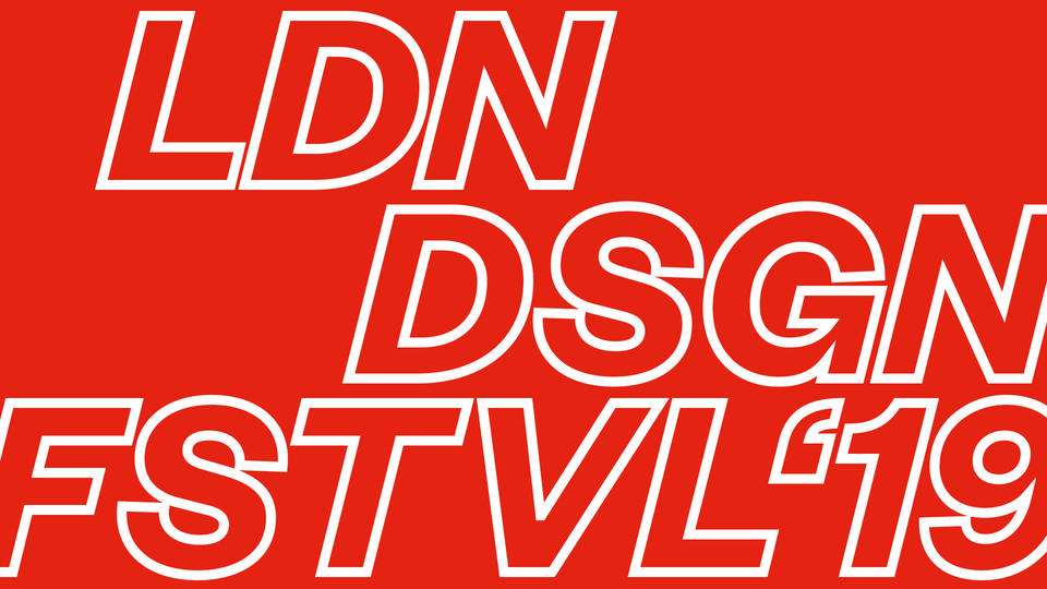 The London Design Festival 2019 takes place in multiple locations across the capital from 14th to the 22nd September.