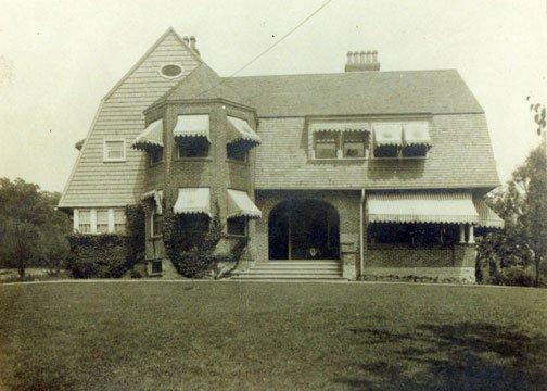 The Post Cottage circa 1917