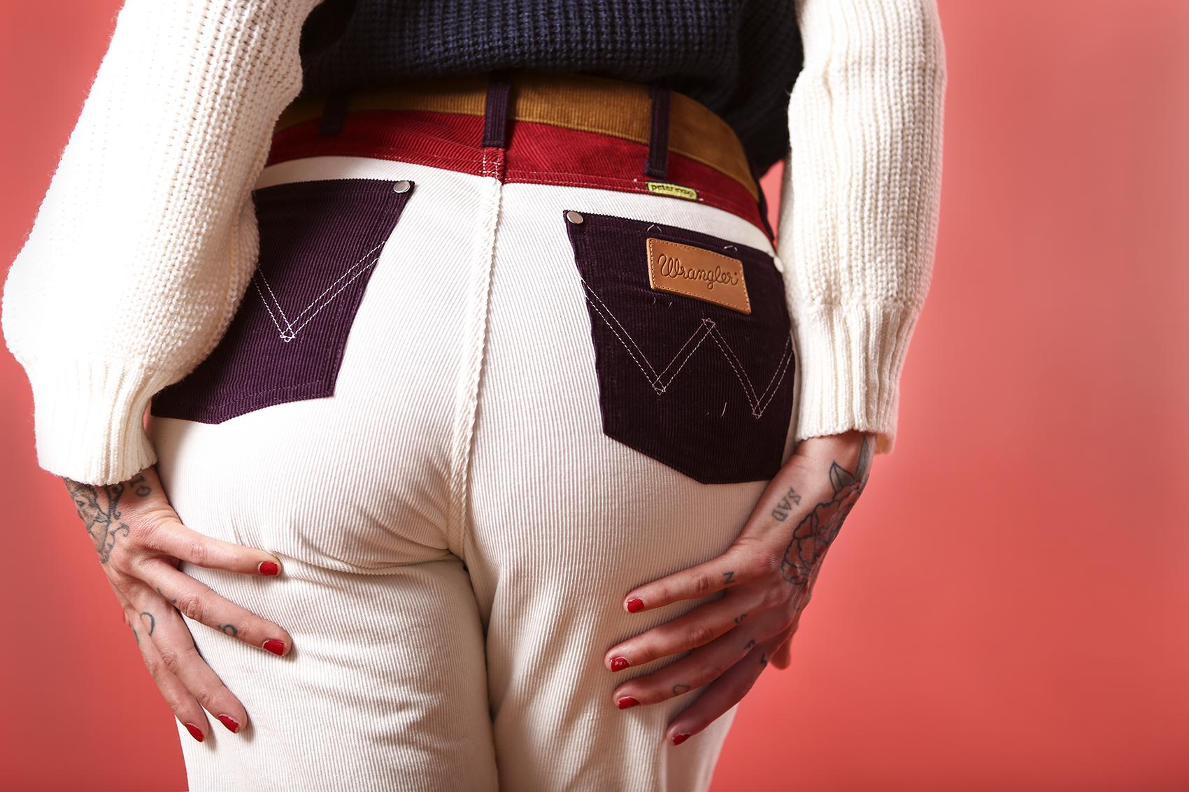 Model: Christina Curry Styling: Kimberley Wenas Jacket: Wrangler x Peter Max