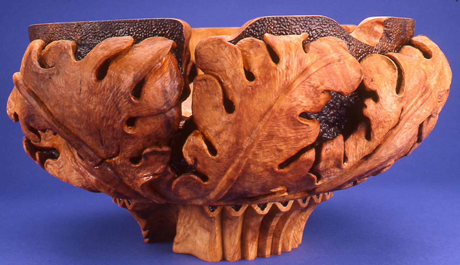 Oak Leaves Bowl, 1988