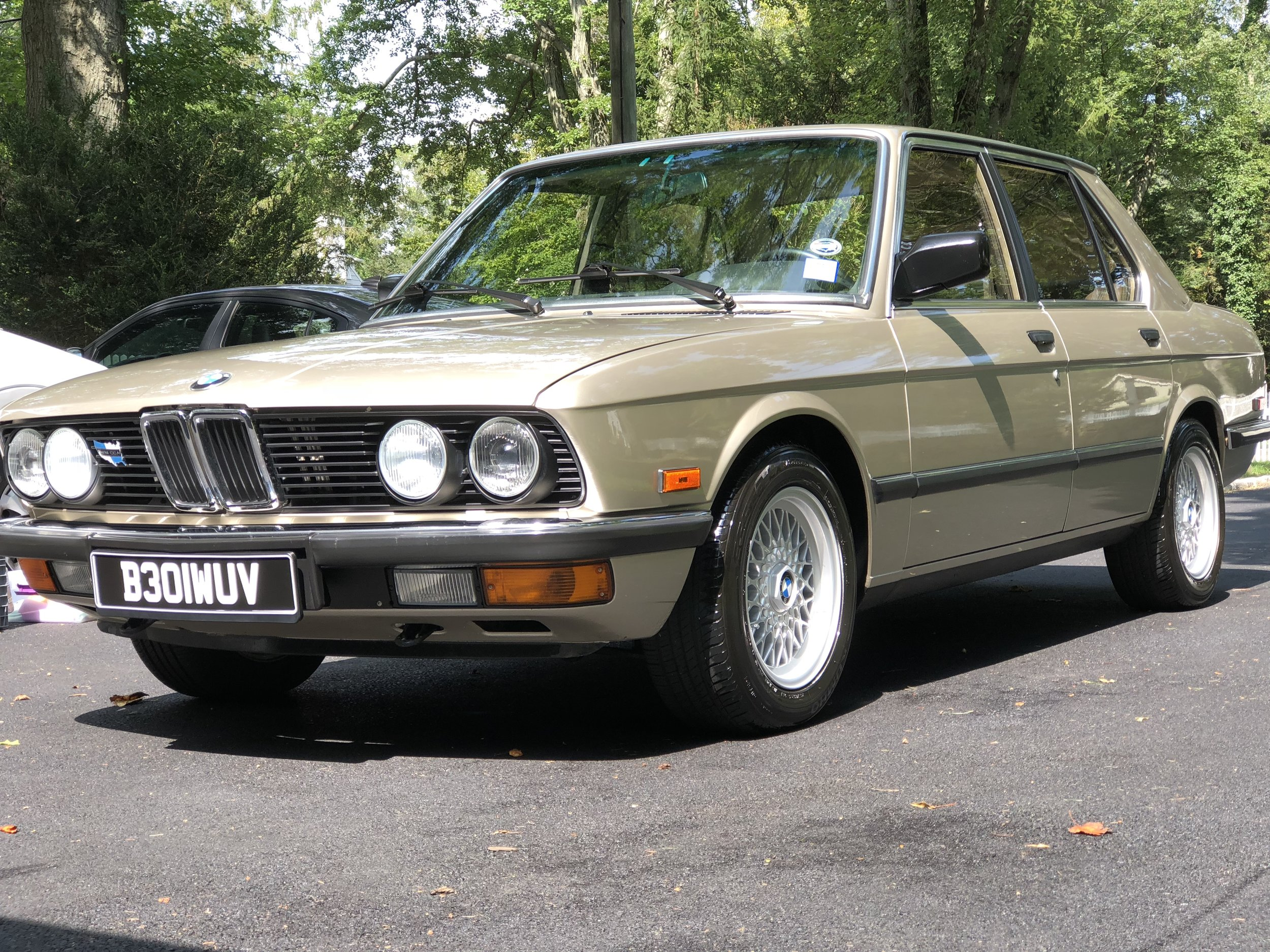 Bmw 520I E28 - New Car Detail - Engine Bay Detailexpect the unexpected, this immaculate classic that's powered by an S50B30US 3.0L straight-six received our new car protection detail & engine bay detail.
