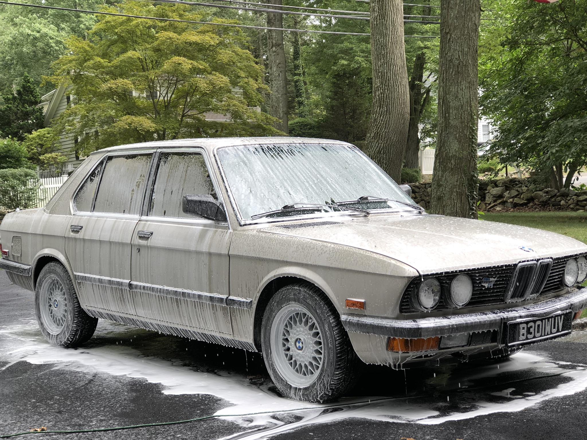 Car Detailing On BMW 520I (4).JPEG