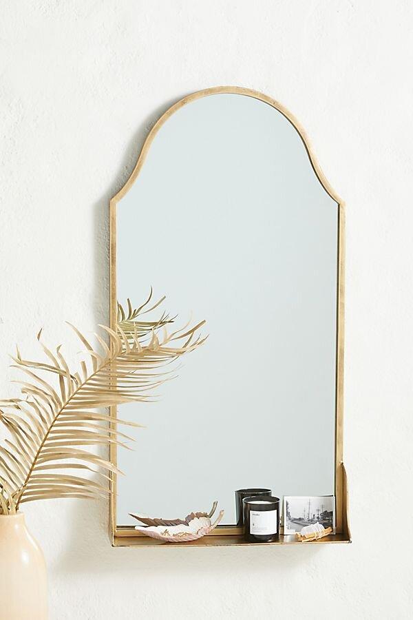 Bathroom Mirror Round Up Meg, Brass Bathroom Mirrors