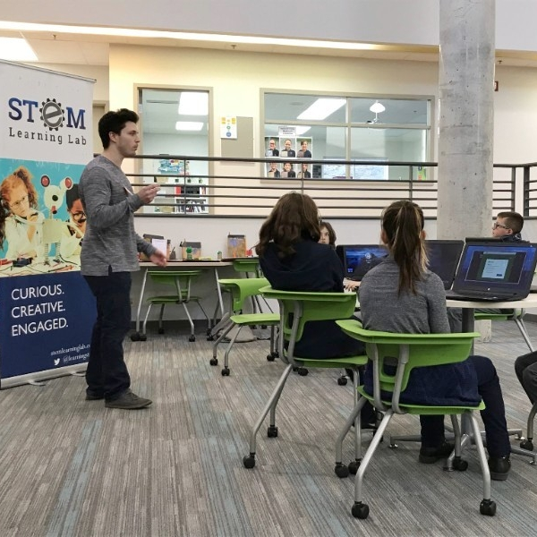 Collaboration with STEM Learning Labs - We are excited to collaborate with STEM Learning Labs who join us on Wednesday afternoons. The students are fully engaged in preparing for the world of tomorrow.