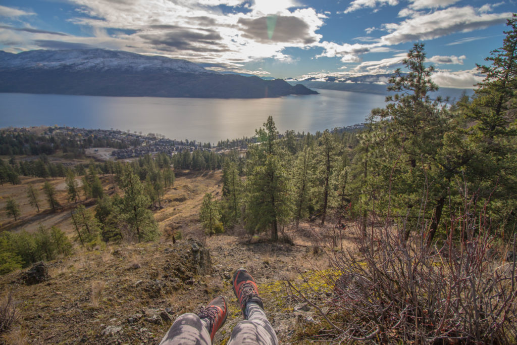 Image:  Hiking the Okanagan
