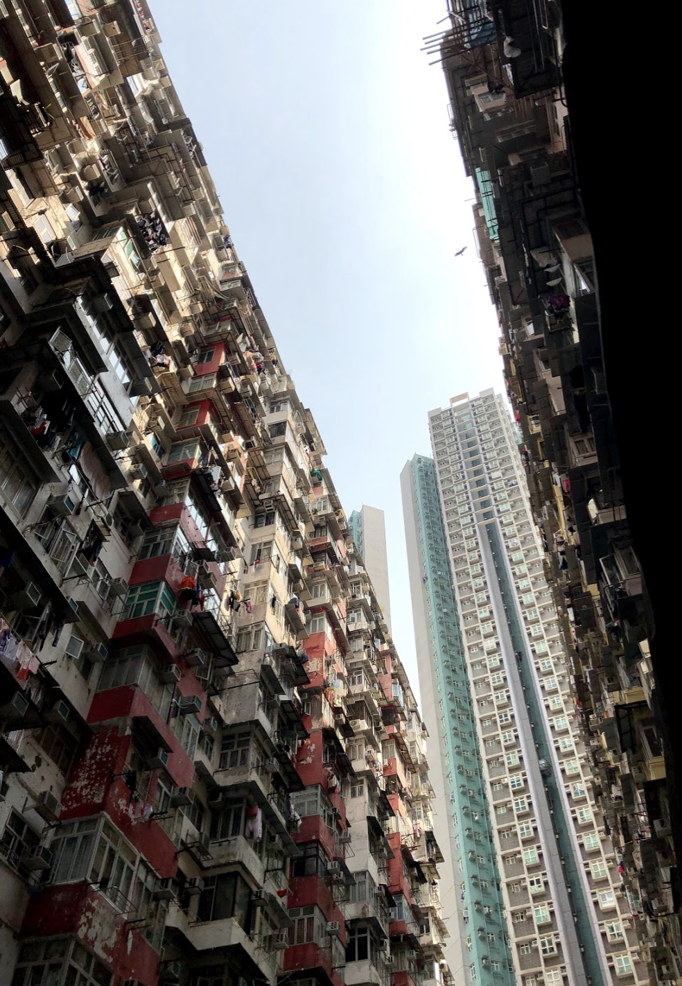 Photo Credit: Dr. Tosca Killoran. Hong Kong Apartment living