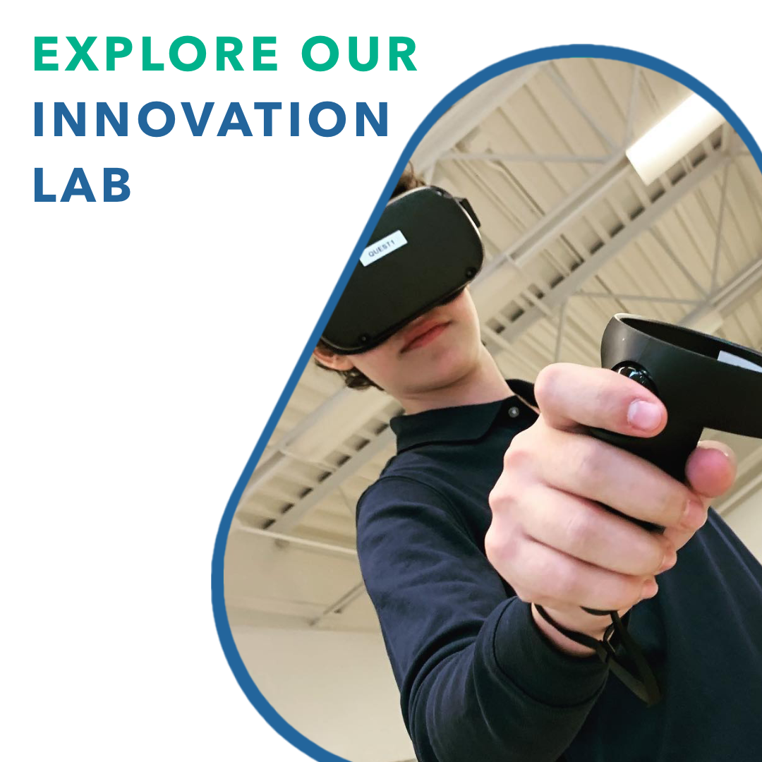 Experience Our Innovation Lab - Experience how students at Unisus learn with:Augmented & Virtual Reality3D PrintingCoding and Design