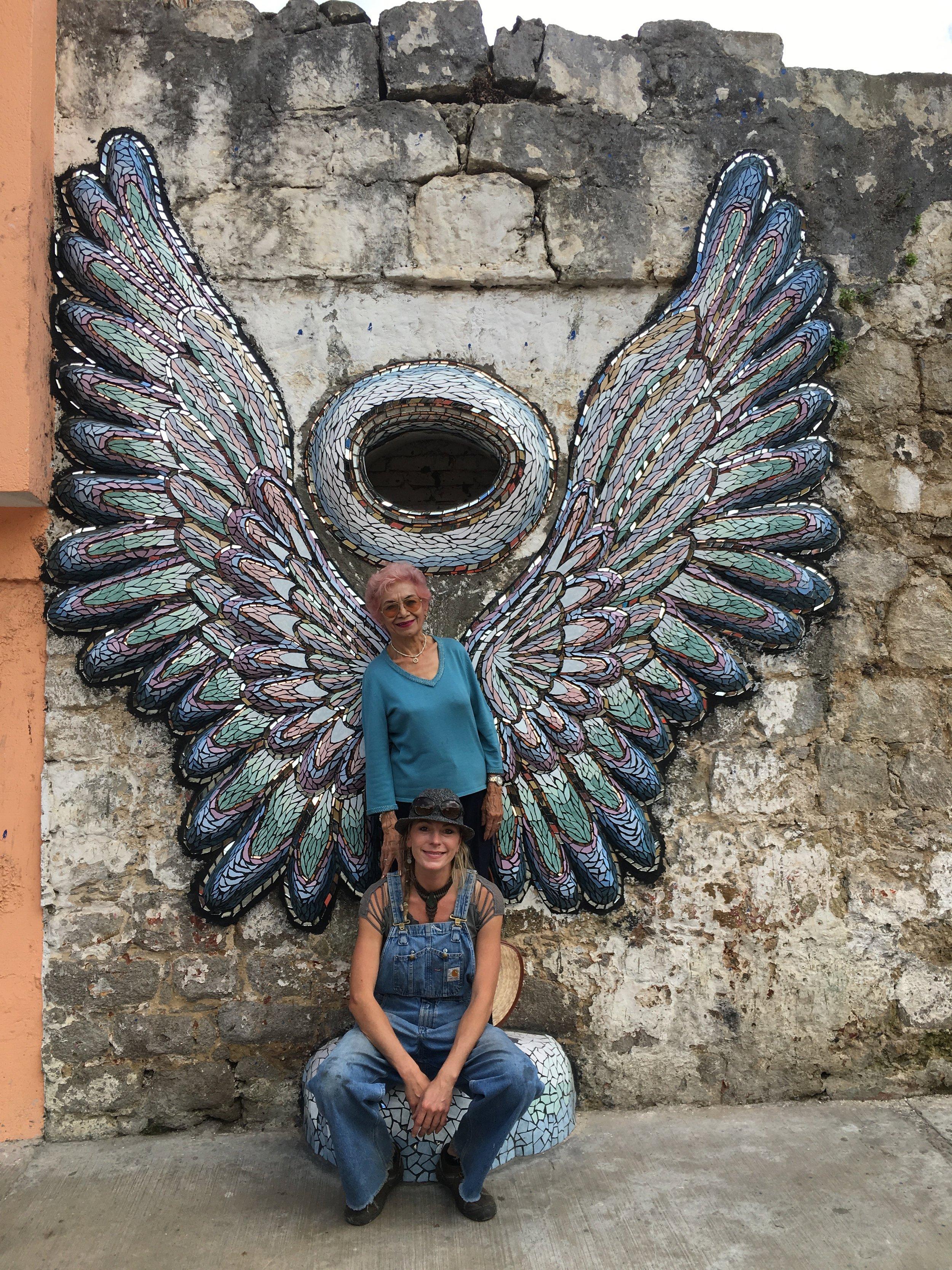 Metzner Alas Wings Zacatlan murales