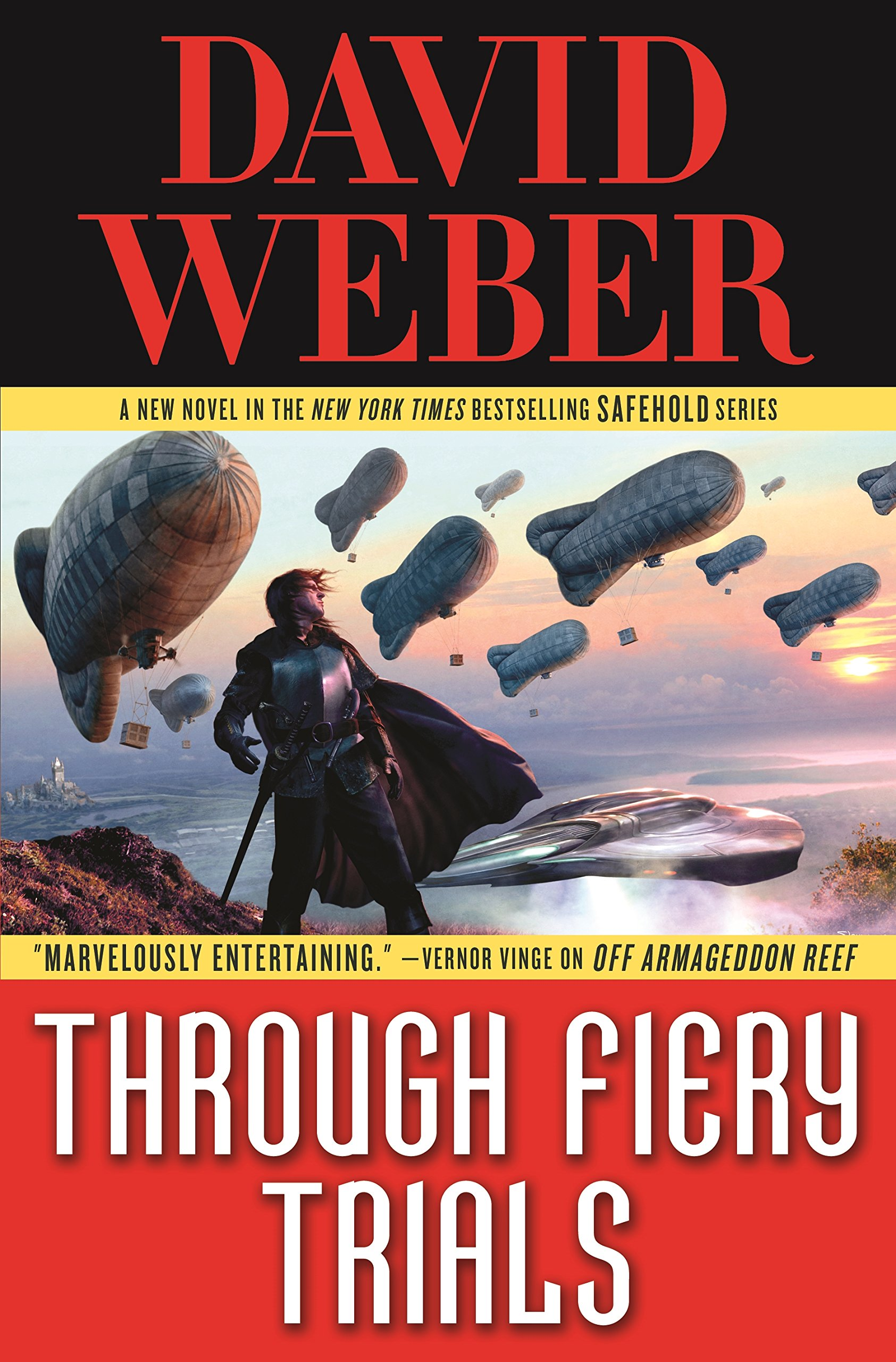 Through Fiery Trials by David Weber book cover