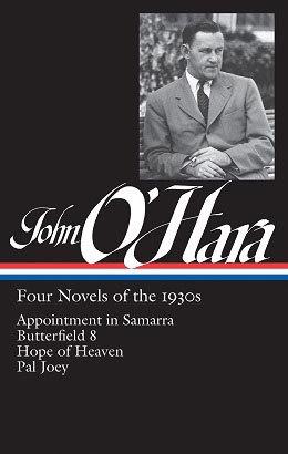 John O'Hara Four Novels of the 1930's.jpg
