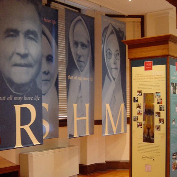 Religious Sacred Heart of Mary history exhibit