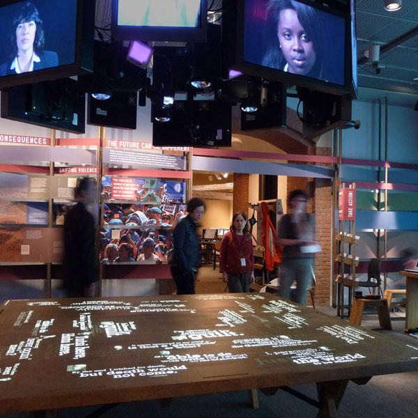 Genocide exhibition