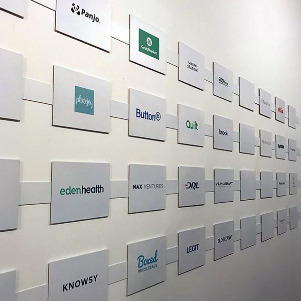 MAX Ventures logo wall