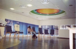 Patient Transport Lounge, Charing Cross Hospital, London