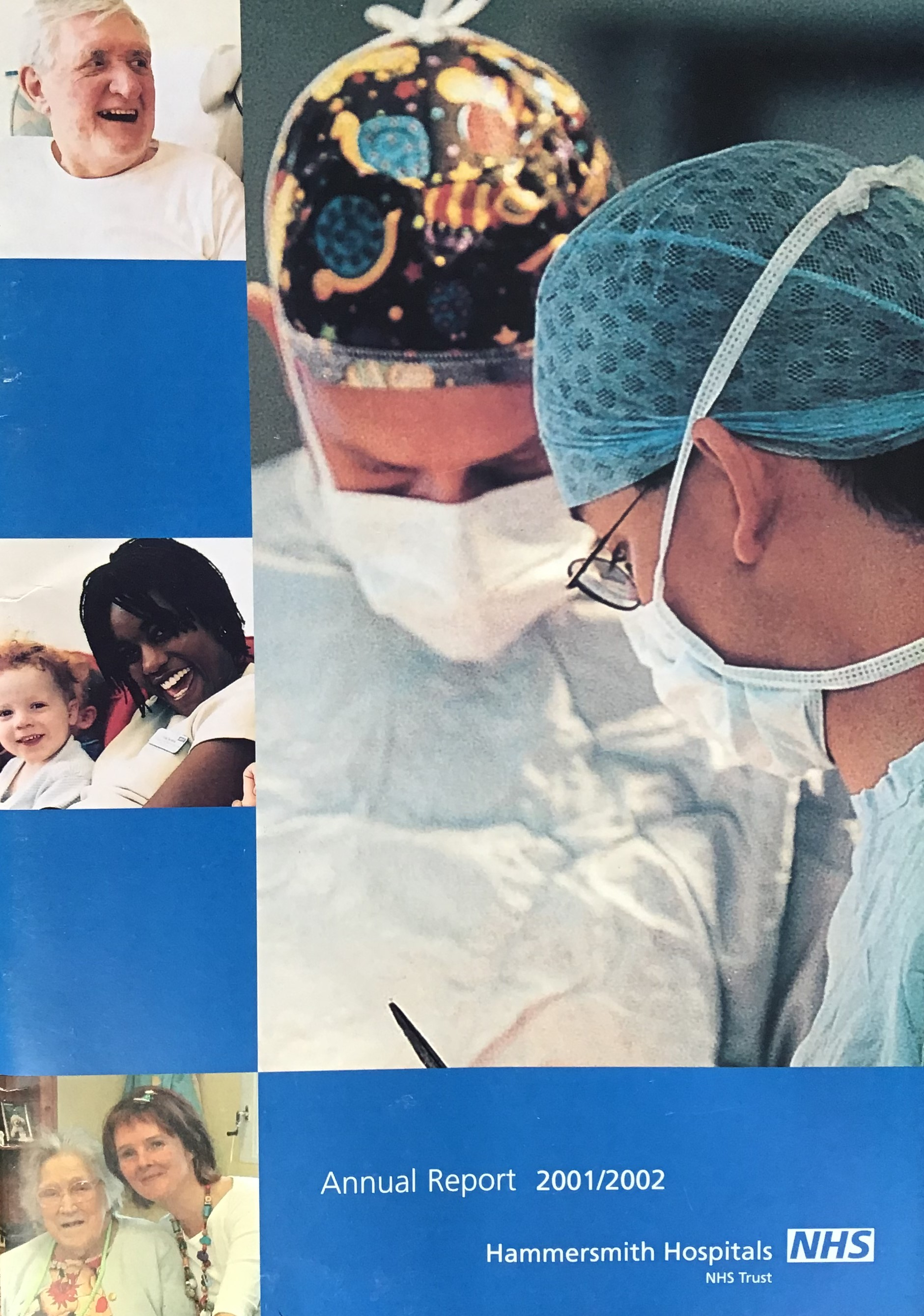 Hammersmith hospitals annual report 2001.jpg