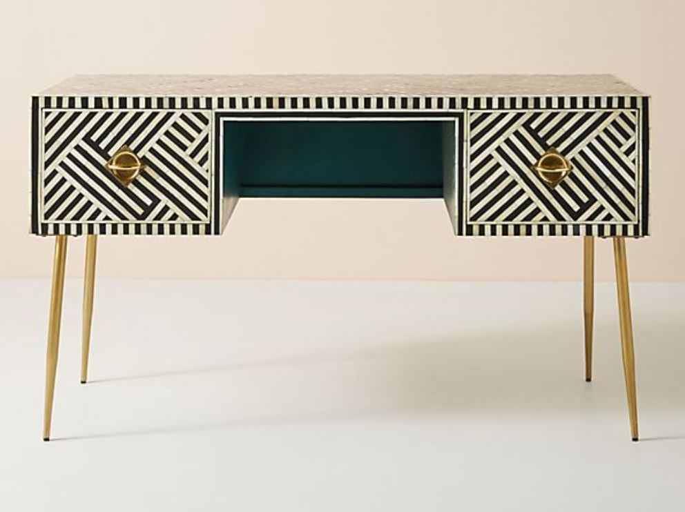 Art Deco inspired console table, Anthropologie.JPG
