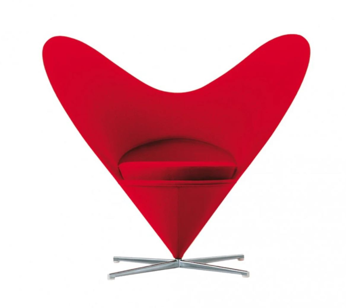 Heart cone chair, Conran shop.JPG