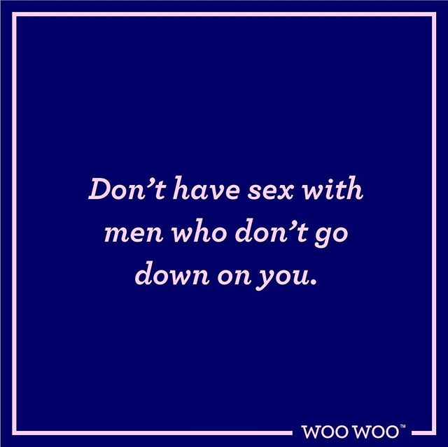 Oral sex is the spice of life guys. It can take women a long time to come to terms with loving and accepting their own vaginas, and to then be rejected... Not happening! Selfish lover = selfish person. Do not date these men, this is not up for discussion! You deserve better and life is too short to not receive head!  #bigclitenergy #itsallinyourhead #fridayfeeling #woowoo #woowoofun