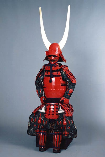 Naomasa Li's defining armour, earning him the nickname of Red Demon.