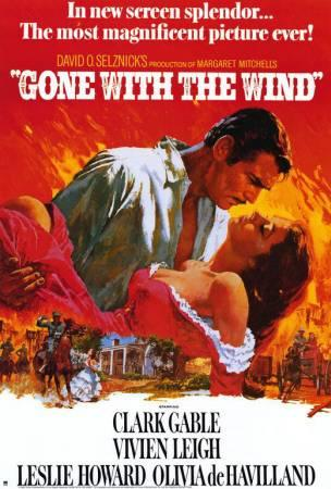 Gone with the Wind   's iconic poster