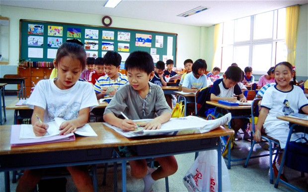 Young South Korean Students